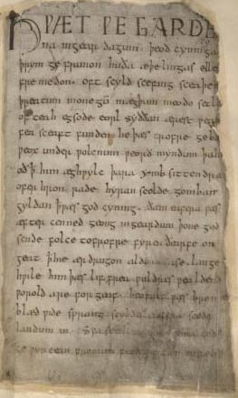 Beowulf - first page