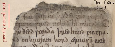 analysing the biblical references in beowulf Biblical allusions in further celebration at heorot there are several biblical references in beowulf that are quite interesting grendel is referred to as a.